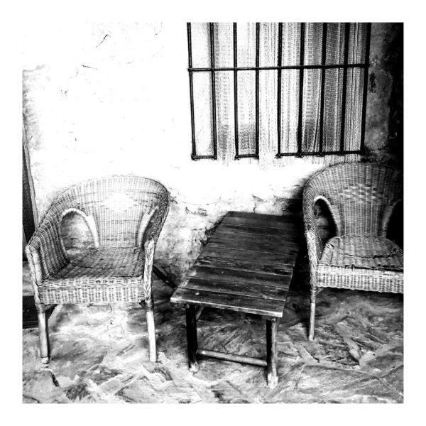photo carrelage fauteuil